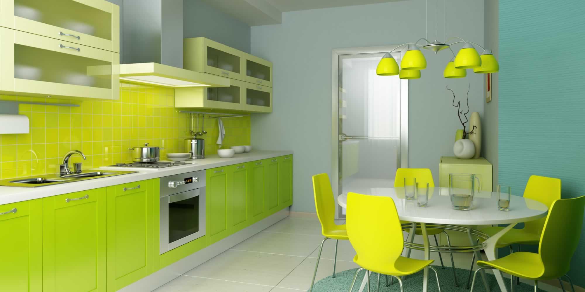 Küche Grün trautes heim inspirationen