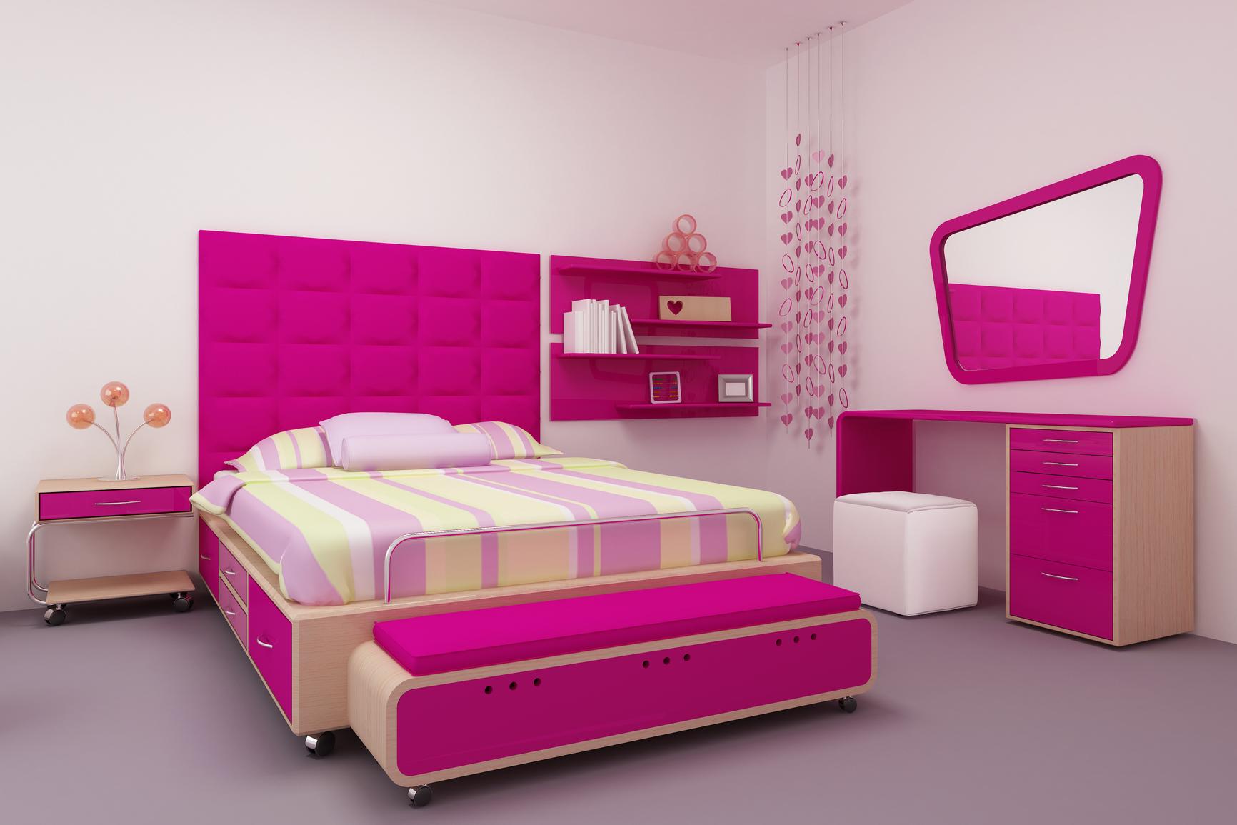 schlafzimmer pink – progo, Schlafzimmer entwurf